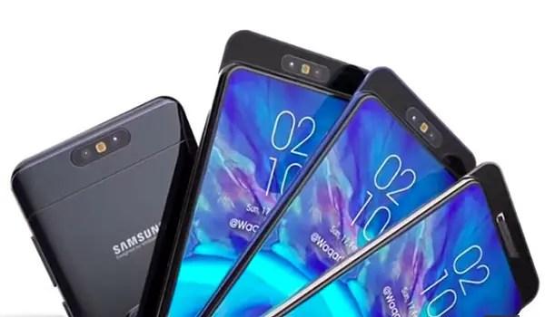 Samsung Galaxy A80 splash