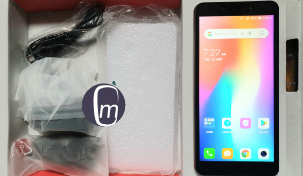 itel P33 unboxing - in the box