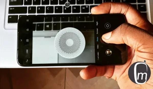 mi compact speaker 2 shot on Redmi Note 7