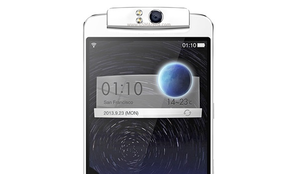 oppo n1 rotating camera top