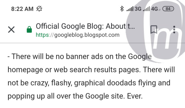 Google lied, introduces banner ads on homepage and web search results