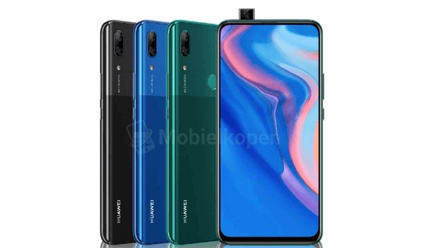 Huawei P Smart Z front and back views