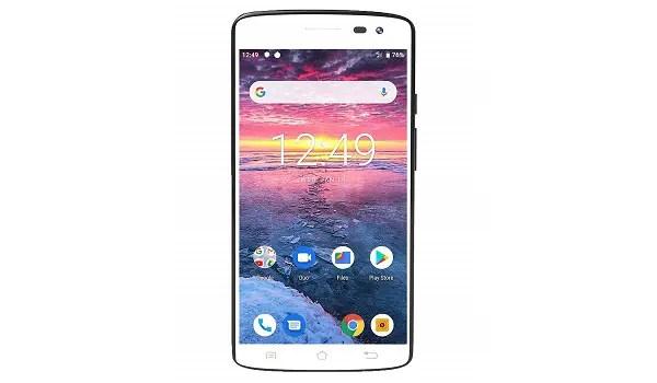 RCA Q2 LTE unlocked smartphone - white front
