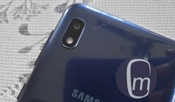 Samsung Galaxy a10 2019 rear camera