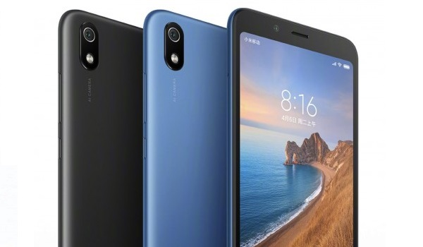 redmi 7a top