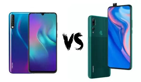Huawei Y9 Prime 2019 vs TECNO Phantom 9