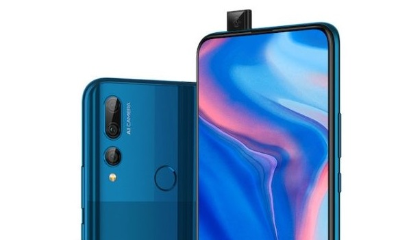 Huawei Y9 prime with motorized pop-up selfie camera