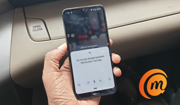 Nokia 3.2 has a Google Assistant button on the left edge