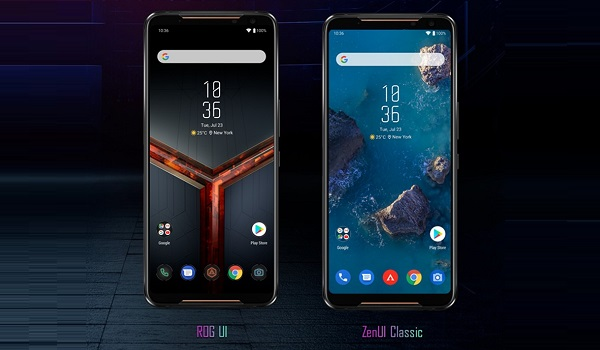 ASUS ROG Phone II with dual UI