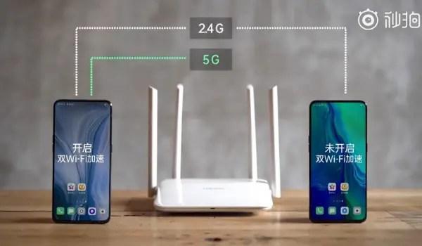 dual Wi Fi network acceleration demo