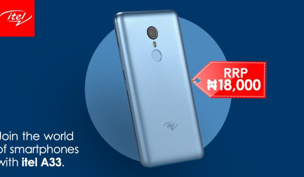 itel a33 price in nigeria