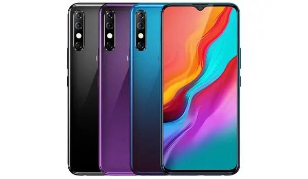 Infinix Hot 8 3 colours