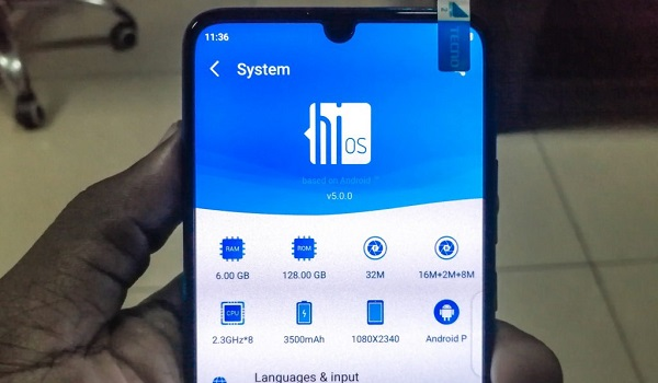 Tecno Phantom 9 supports the hiOS UI which is topped on the Android 9.0 (Pie)