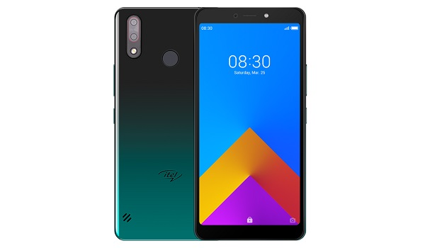 itel a55 gradation green - 800