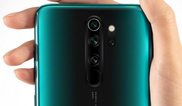 redmi note 8 pro rear with 64 MP camera