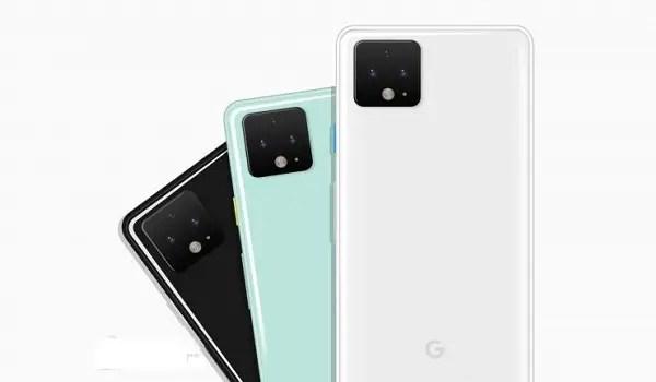 Google Pixel 4 colours