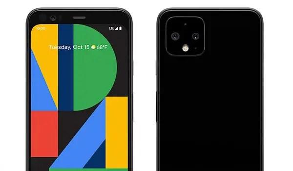 Google Pixel 4 top