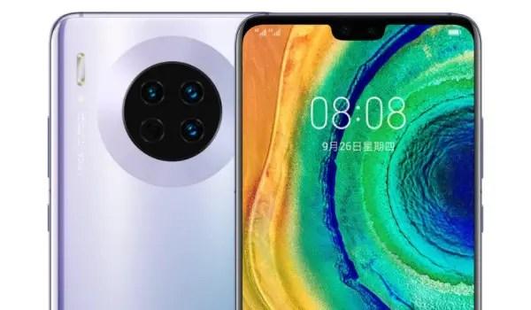 Huawei Mate 30 silver