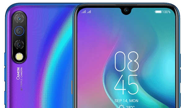 tecno camon 12 pro triple camera