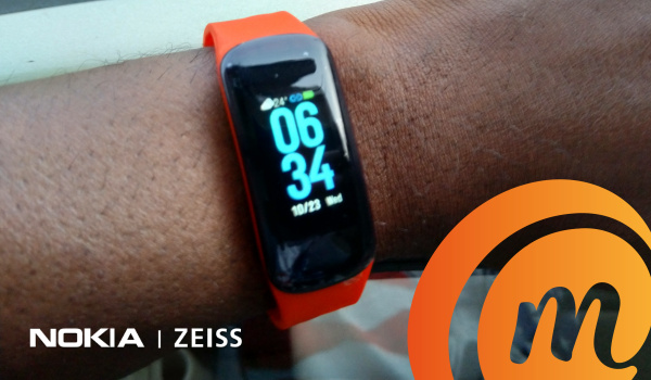 Oraimo Tempo C smart fitband wearable on mobilityarena