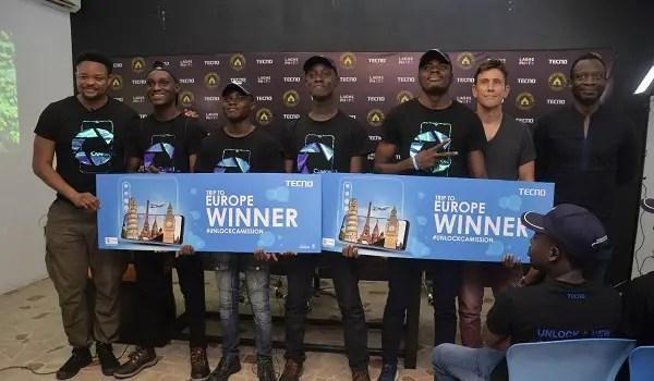 tecno UnlockCAMission Camp Winners 1