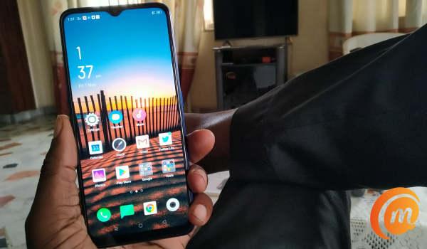 Oppo A9 2020 home screen awake