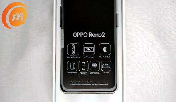Oppo reno2 unboxing