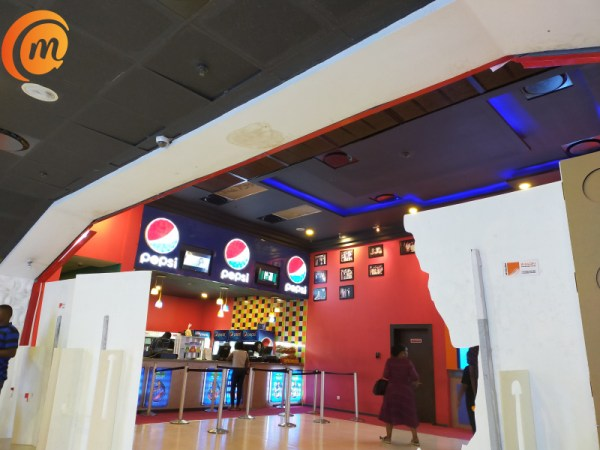 Silverbird cinemas lounge captured with Oppo A9 2020 quad camera