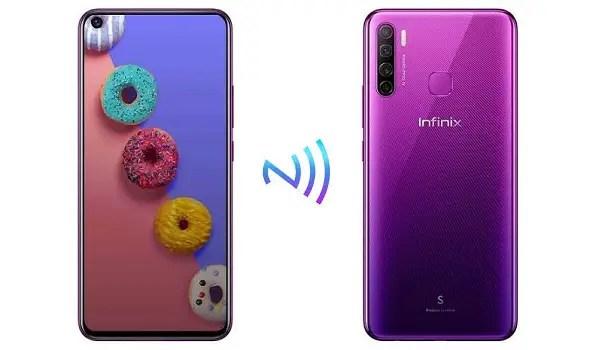 infinix phones with nfc