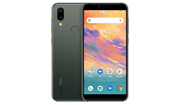 UMIDIGI A3S midnight green