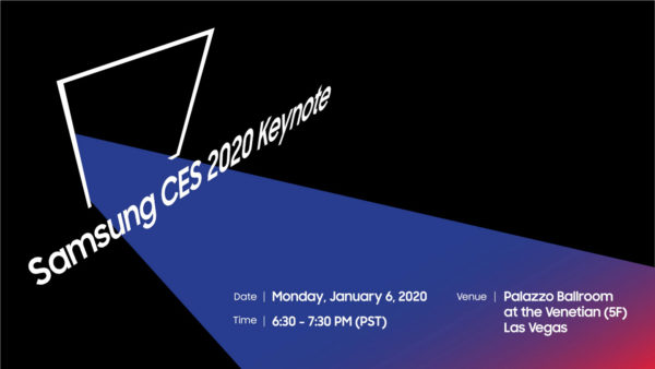 Samsung CES 2020 scaled
