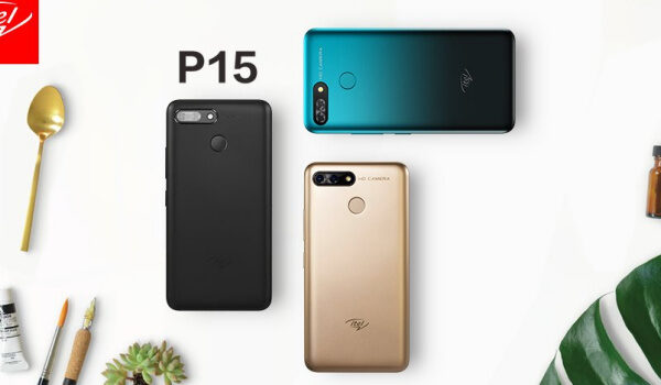 itel P15 colours