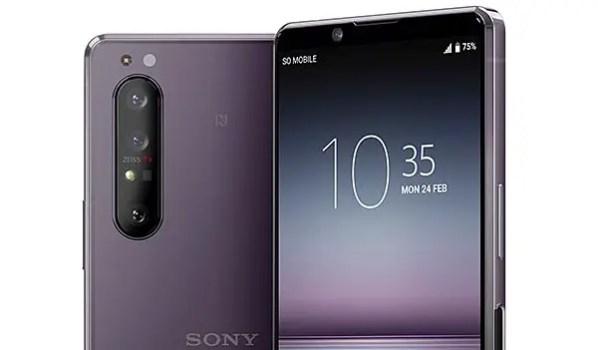 Sony Xperia 1 II zeiss camera