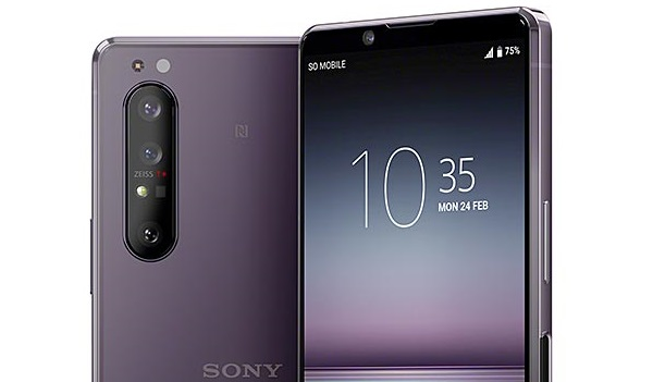 Sony Xperia 1 II zeiss camera