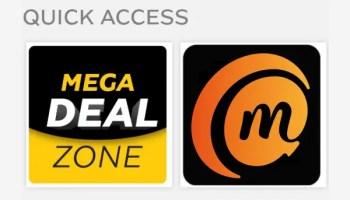 20GB mobile data for ₦3500 on MTN app mega deal zone