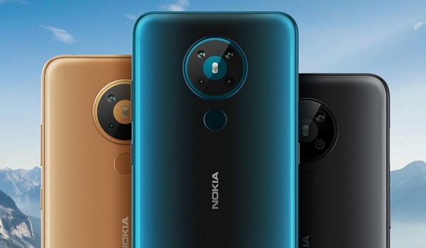 Nokia 5.3 in 3 colours