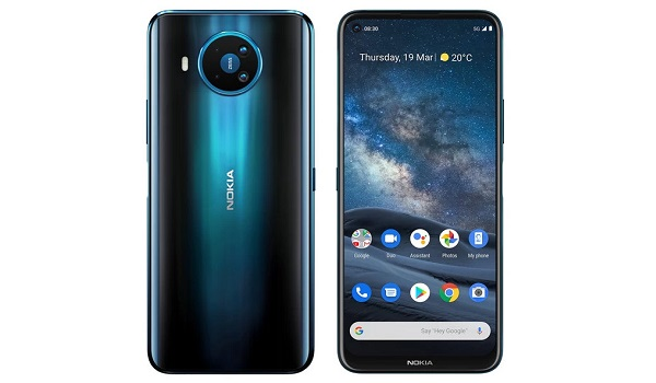 Nokia 8.3 5G front and back