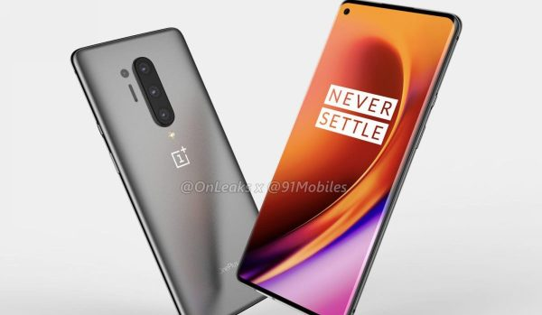 Leaked Renders of the OnePlus 8 Pro