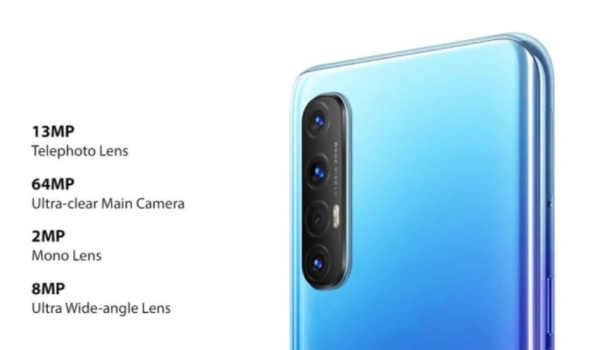 OPPO Reno3 Pro quad camera specs