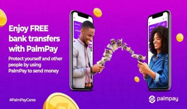 PalmPay free money transfers