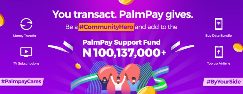 PalmPay support fund