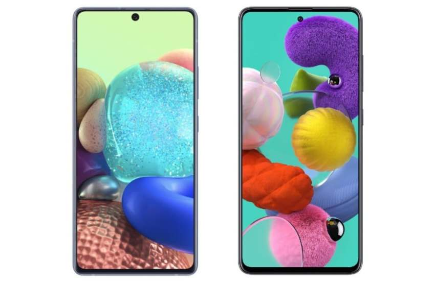 Samsung A71 5G & A51 5G