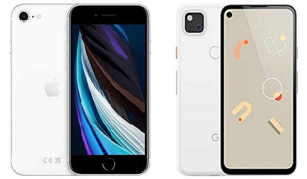 iPhone SE 2020 vs Pixel 4a comparison