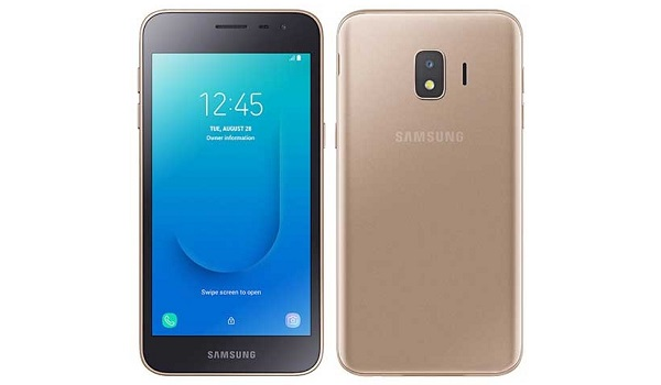 Samsung Galaxy J2 Core 2020 gold