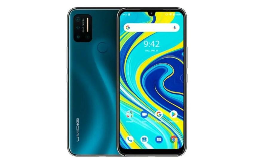 umidigi A7 Pro vs Samsung Galaxy A20 green 2