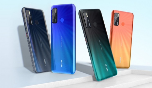 TECNO spark 5 colours