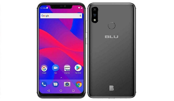 blu vivo xi plus front back side-by-side