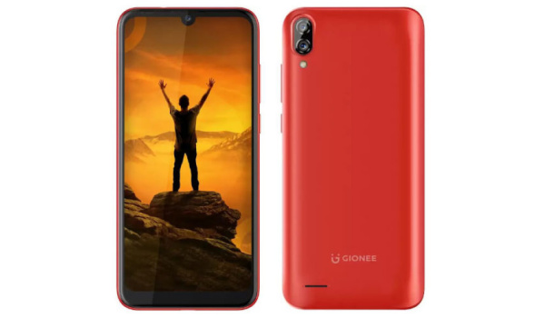 Gionee Max specs and price red