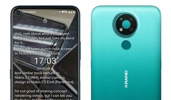 Nokia 3.4 cameras