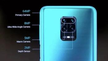 Redmi Note 9 Pro 64MP quad camera